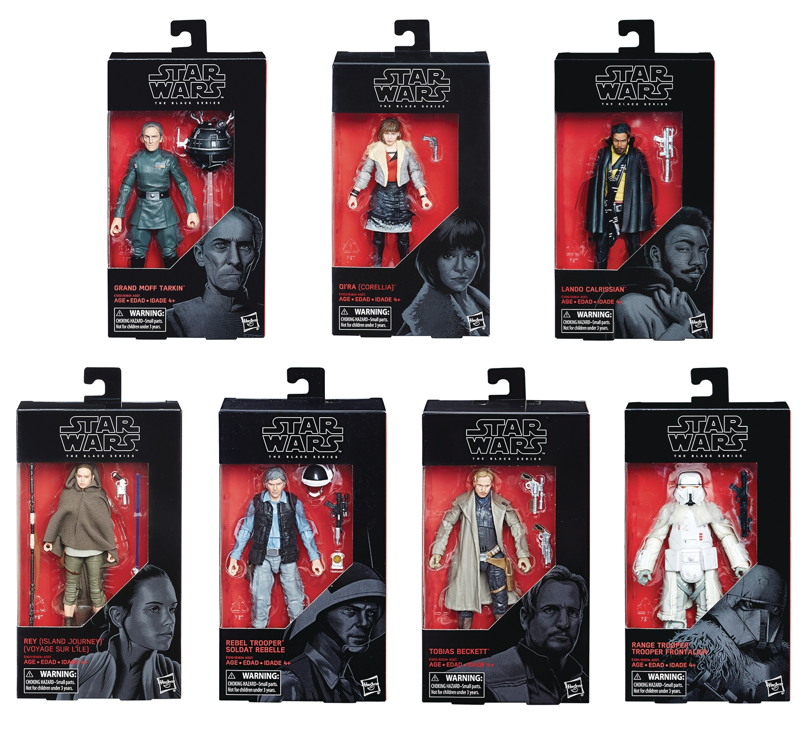 EN STOCK Hasbro Toys Star Wars Black Series Tobias Beckett Action Figure