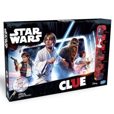 Star Wars Clue [Damaged]