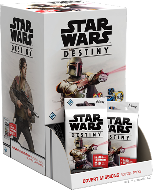 Star Wars Destiny: Covert Missions - Booster Pack