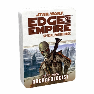 Star Wars Edge of the Empire: Specialization Deck - Archaeologist