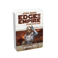 Star Wars Edge of the Empire: Specialization Deck - Bounty Hunter Operator