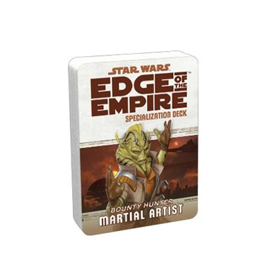 Star Wars Edge of the Empire: Specialization Deck - Bounty Hunter Martial Artist