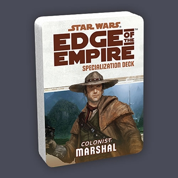 Star Wars Edge of the Empire: Specialization Deck - Colonist Marshal