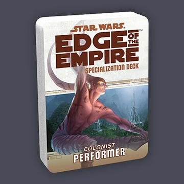 Star Wars Edge of the Empire: Specialization Deck - Colonist Performer