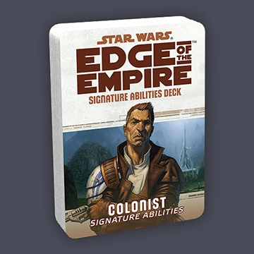 Star Wars Edge of the Empire: Signature Abilities Deck - Colonist Signature Abilities