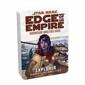 Star Wars Edge of the Empire: Specialization Deck - Explorer (Signature Abilities)