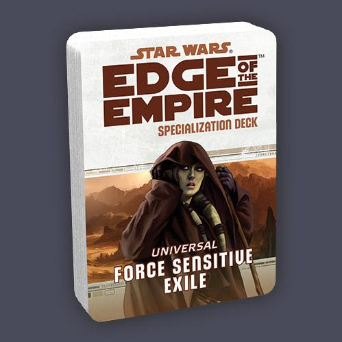 Star Wars Edge of the Empire: Specialization Deck - Force Sensitive Exile (SALE)