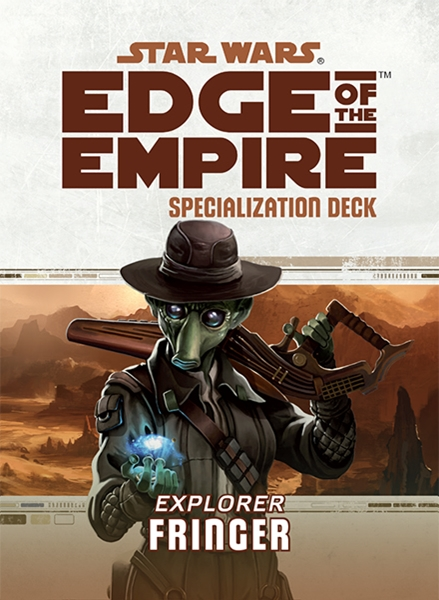 Star Wars Edge of the Empire: Specialization Deck - Explorer Fringer