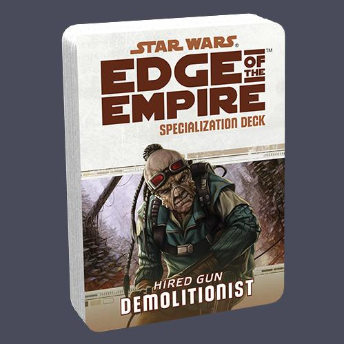 Star Wars Edge of the Empire: Specialization Deck - Hired Gun Demolitionist