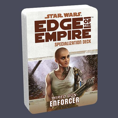 Star Wars Edge of the Empire: Specialization Deck - Hired Gun Enforcer