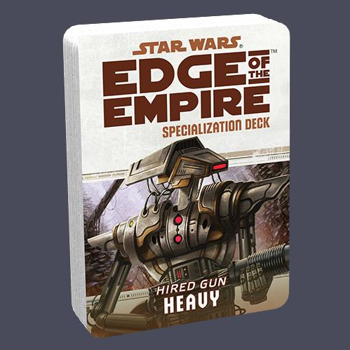 Star Wars Edge of the Empire: Specialization Deck - Hired Gun Heavy