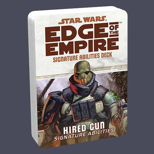 Star Wars Edge of the Empire: Specialization Deck - Hired Gun Signature Abilities