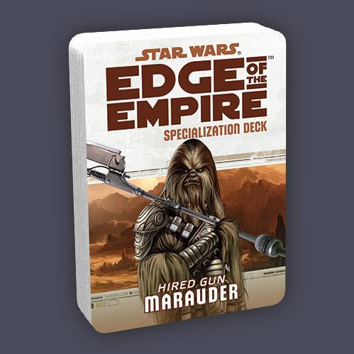 Star Wars Edge of the Empire: Specialization Deck - Marauder
