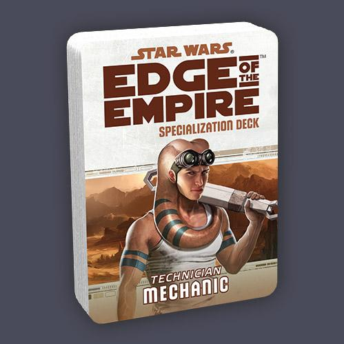 Star Wars Edge of the Empire: Specialization Deck - Mechanic