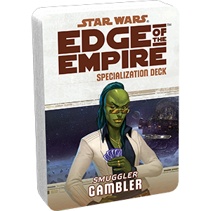 Star Wars Edge of the Empire: Specialization Deck - Smuggler Gambler