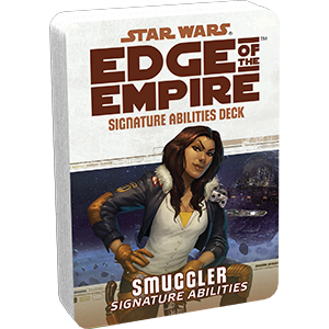 Star Wars Edge of the Empire: Specialization Deck - Smuggler Signature Abilities