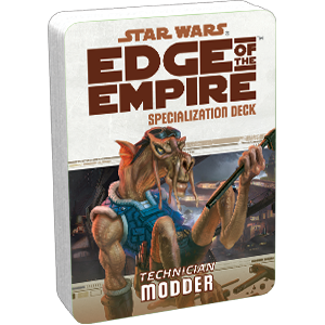 Star Wars Edge of the Empire: Specialization Deck - Technician Modder