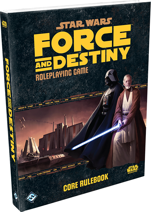 Star Wars Force and Destiny: Core Rulebook [Damaged]