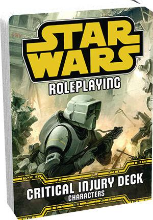 Star Wars Roleplaying: Critical Injury Deck