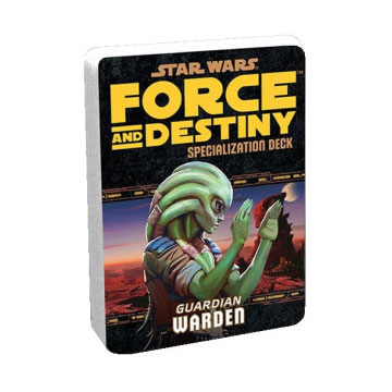Star Wars Force and Destiny: Specialization Deck- Guardian Warden