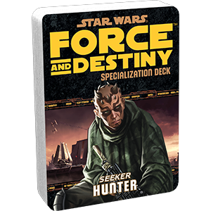 Star Wars Force and Destiny: Specialization Deck- Hunter