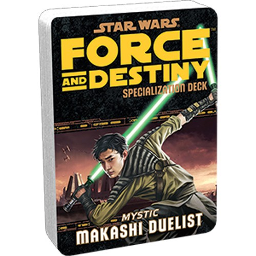 Star Wars Force and Destiny: Specialization Deck- Makashi Duelist