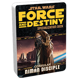 Star Wars Force and Destiny: Specialization Deck- Niman Disciple