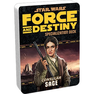 Star Wars Force and Destiny: Specialization Deck- Sage