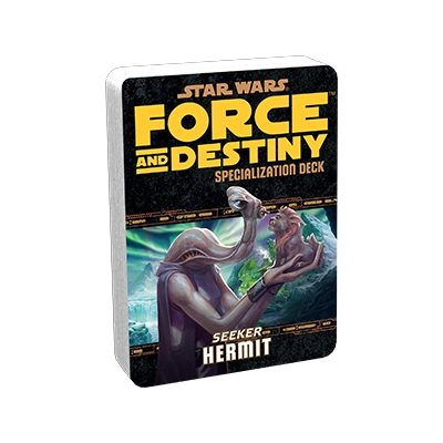 Star Wars Force and Destiny: Specialization Deck- Seeker Hermit