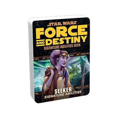 Star Wars Force and Destiny: Seeker Signature Abilities