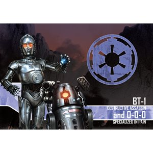 Star Wars Imperial Assault: BT-1 and 0-0-0 Villain Pack [SALE]