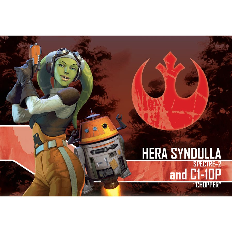 Star Wars Imperial Assault: Hera Syndull and C1-10P Ally Pack
