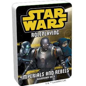 Star Wars Roleplaying: Imperial & Rebels Deck III Adversary Deck