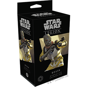 Star Wars Legion: Bossk Operative