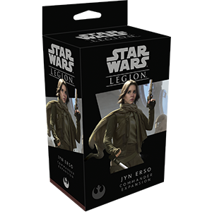 Star Wars Legion: Commander - Jyn Erso