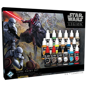 Star Wars Legion: Core Paint Set