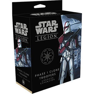 Star Wars Legion: PHASE 1 CLONE TROOPER UPGRADE EXPANSION