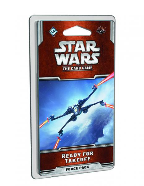 Star Wars The Card Game: Ready for Takeoff Force Pack [SALE]