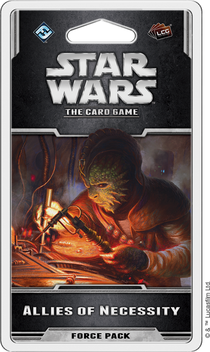 Star Wars The Card Game: ALLIES OF NECESSITY [SALE]
