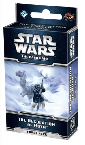 Star Wars The Card Game: The Desolation of Hoth [SALE]
