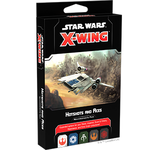 Star Wars X-Wing 2.0: HOTSHOTS AND ACES REINFORCEMENTS PACK