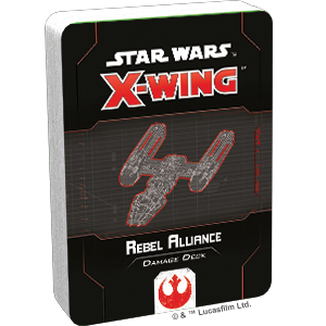 Star Wars X-Wing 2.0: REBEL ALLIANCE DAMAGE DECK