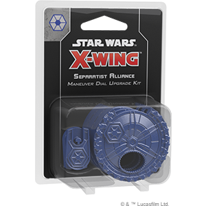 Star Wars X-Wing 2.0: Separatist Alliance Maneuver Dial Upgrade Kit