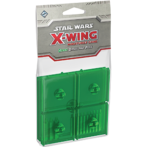 Star Wars X-Wing: Bases and Pegs- Green [SALE]