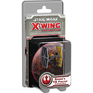 Star Wars X-Wing: Sabines TIE Fighter [SALE]