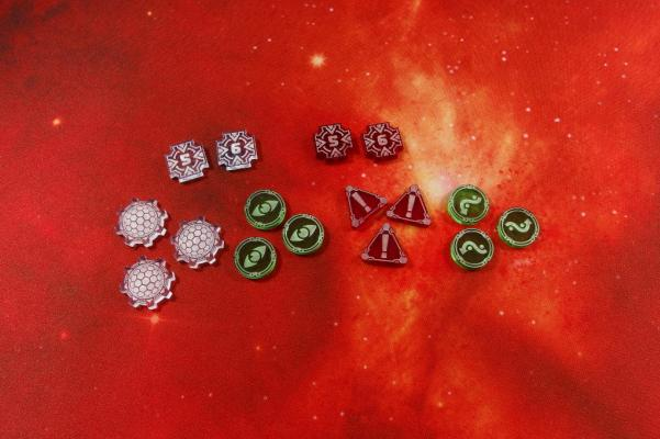 Star Wars X-Wing: Space Fighter Add-On Tokens (10)