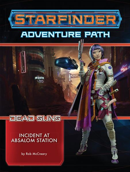 Starfinder: Adventure Path - Incident at Absalom Station (Dead Suns 1/6) [SALE]