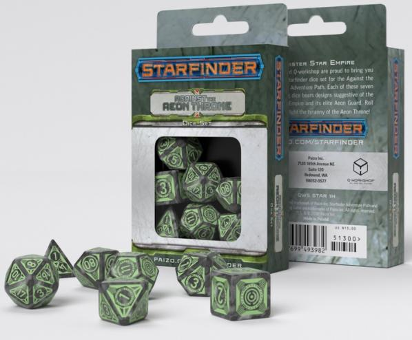 Starfinder: Against the Aeon Throne Dice Set