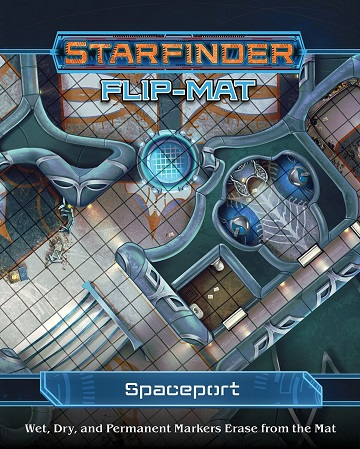 Starfinder: Flip-Mat - Spaceport