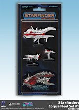 Starfinder: Miniatures- Corpse Fleet Set 1